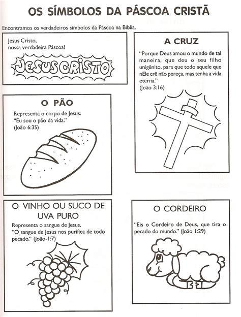 Desenhos Para Colorir: Símbolos da Páscoa para Colorir