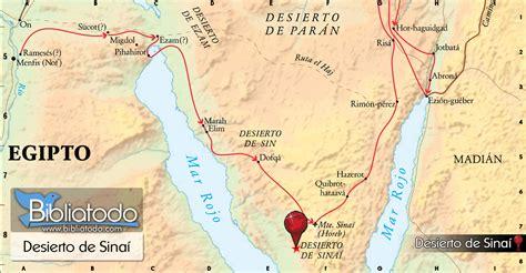 Desierto de Sinaí - Mapa y Ubicación Geográfica
