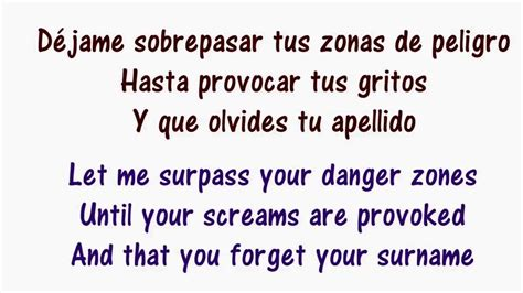 Despacito Lyrics In Spanish And English   Luis Fonsi ft ...