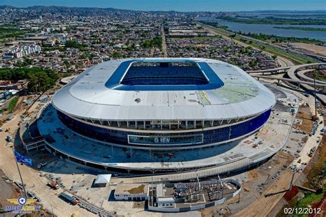 Desplome de estadio de fútbol brasileño - Paperblog