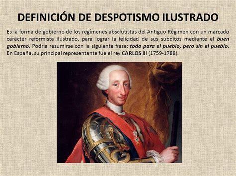 Despotismo ilustrado: definición breve