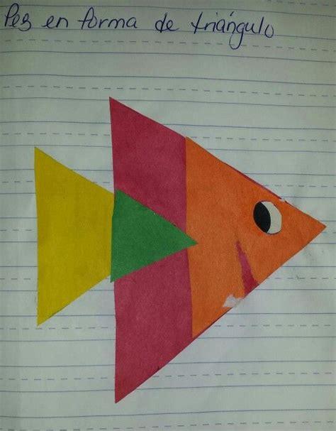 Destreza: triángulo Pez creado con triángulos de ...
