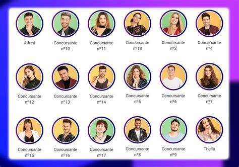 Desvelados los 18 concursantes de Operación Triunfo 2017 ...