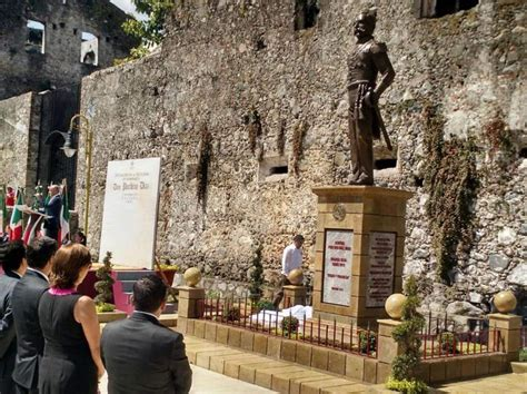 Desvelan estatua del exdictador Porfirio Díaz en Orizaba ...