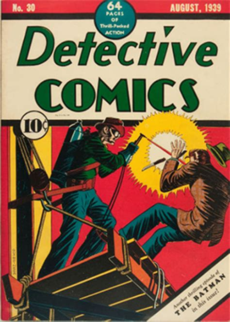 Detective Comics Price Guide for Issues #21 to #30
