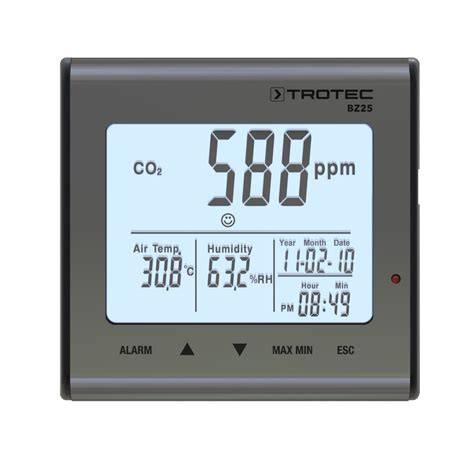 Detector de calidad del aire  CO2  BZ25