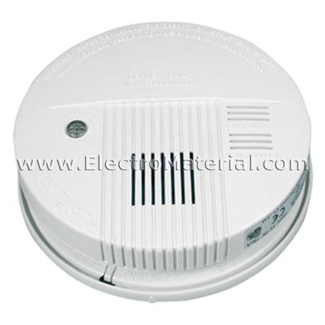 Detector de humos con señal de luz y sonora - ElectroMaterial