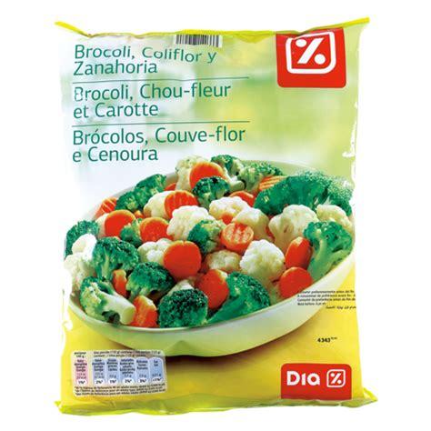 DIA brócoli, coliflor, zanahoria bolsa 1 kg | MEZCLAS ...