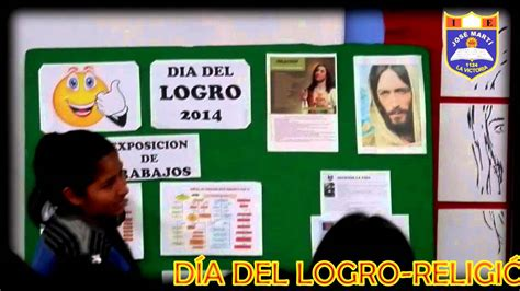 DIA DEL LOGRO - AREA RELIGION - YouTube