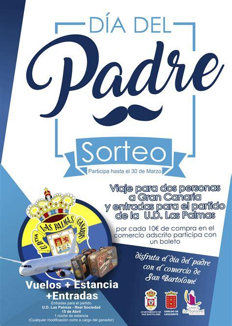 Día del Padre 2018 Sorteo Comercio San Bartolomé ...