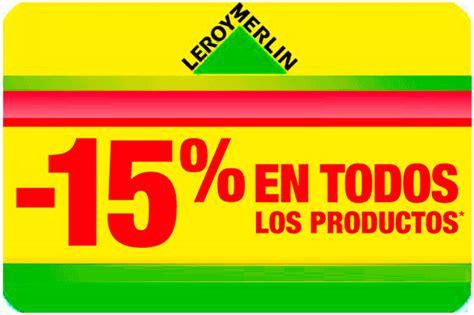 ¡Día del Socio en Leroy Merlin! 15% en TODO solo Jueves 28 ...