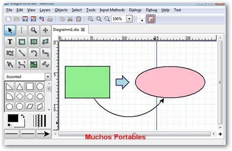 Dia Diagram Editor v0.97.2 R2 Español Portable – Portables ...