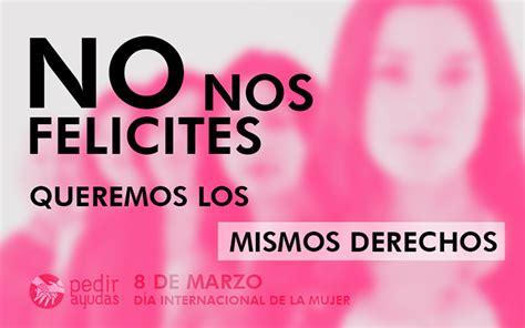 Día Internacional de la Mujer: por qué se conmemora el 8 ...