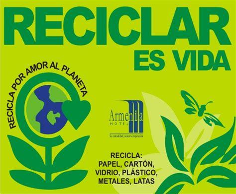 """Día Internacional del Reciclaje: """" Reciclar es vida ..."""