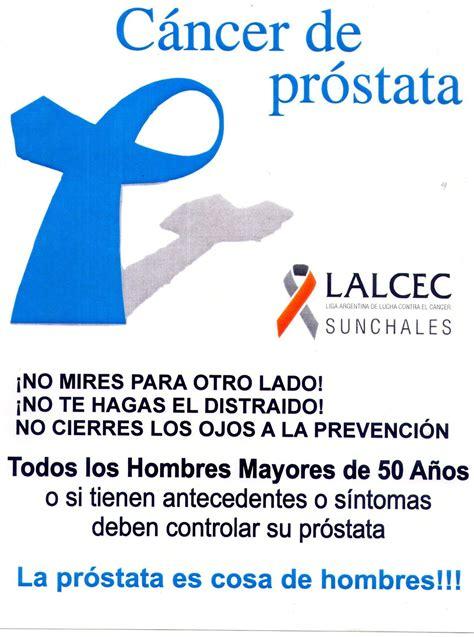 Día Mundial del Cáncer de Próstata | SunchalesHoy ...