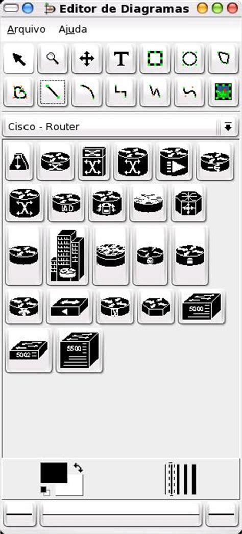 Dia: O Editor de diagrama  Microsoft Visio  para Linux ...