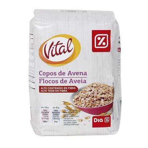 DIA VITAL copos de avena paquete 500 gr | CEREALES LÍNEA ...