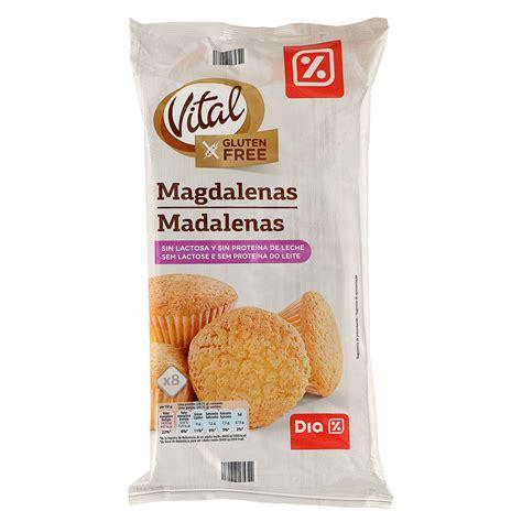 DIA VITAL magdalenas sin lactosa y SIN GLUTEN bolsa 230 gr ...
