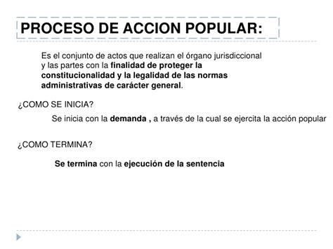 Diapos.de accion de cumplimiento y acción popular