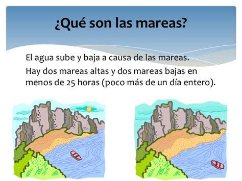 Diapositiva las mareas