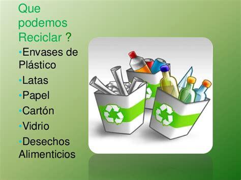 Diapositivas de el reciclaje