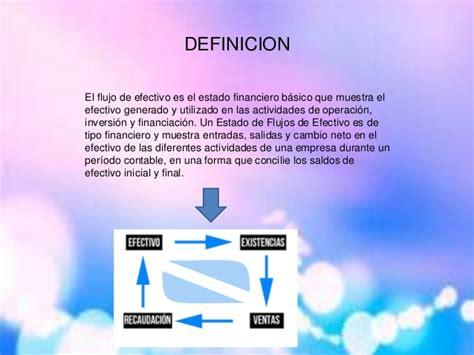 Diapositivas flujo de efectivo