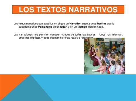 Diapositivas textos narrativos 1