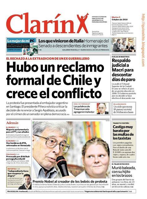 Diario CLARIN   Argentina   05.10.2010 / AvaxHome
