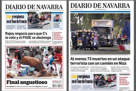 Diario De Navarra Noticias De Navarra Plona Osasuna ...