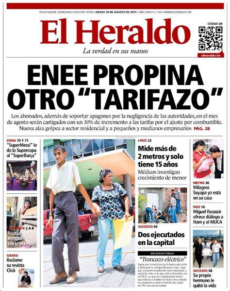 diario el heraldo tegucigalpa diario el heraldo ...