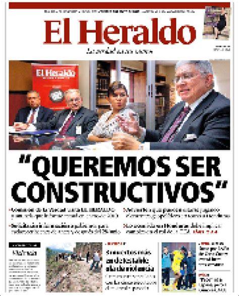 diario el heraldo tegucigalpa peri 243 dico el heraldo ...