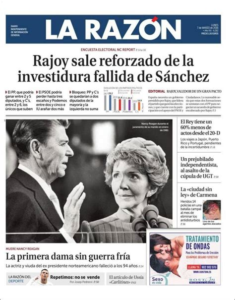 Diario La Razón - 7 Marzo 2016 [PDF - MEGA] - Descargar Gratis