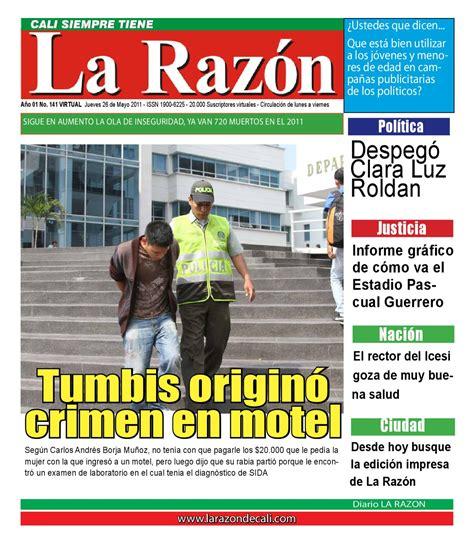 Diario La Razón, jueves 26 de mayo by Edgar Buitrago Rico ...