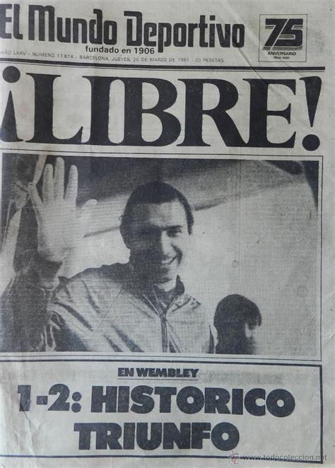 diario mundo deportivo secuestro quini 1981   l   Comprar ...