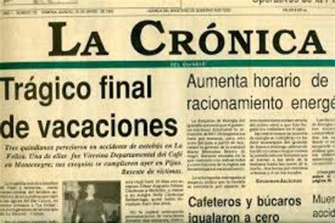 DIARIOS PERUANOS A LO LARGO DEL TIEMPO timeline ...