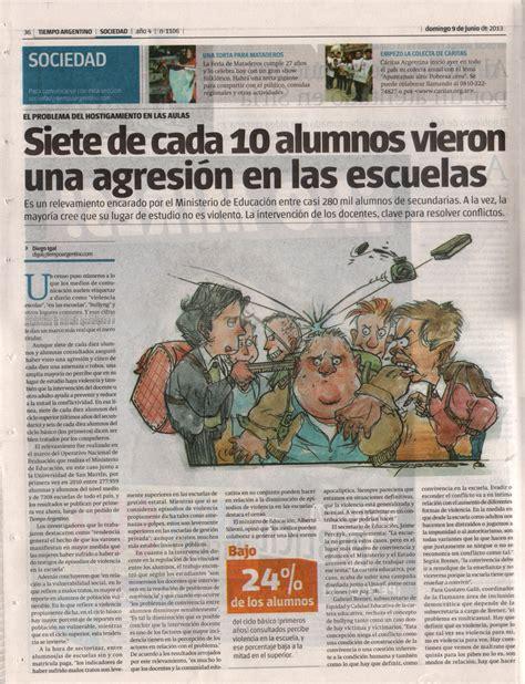 Diarios / Revistas | Libres de Bullying
