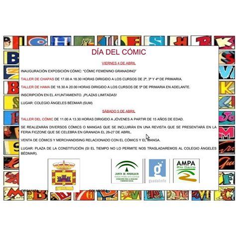 Días del Cómic en Huétor de Santillán (viernes 4 y sábado ...