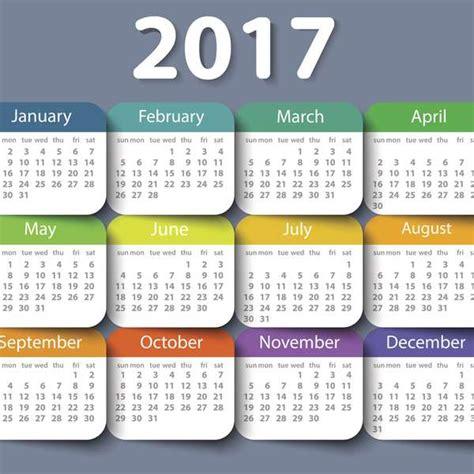 Dias feriados 2017 calendario dias de descanso no ...