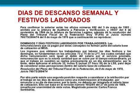Dias Festivos Obligatorios Ley Federal Trabajo Vlex Mxico ...