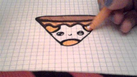 Dibuja cosas kawaii  pizza    YouTube