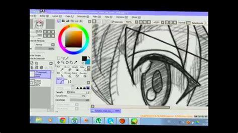 dibujando en paint tool sai  programa para dibujar anime ...