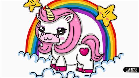 Dibujando Tutoriales: Cómo Dibujar un Unicornio Rosa ...