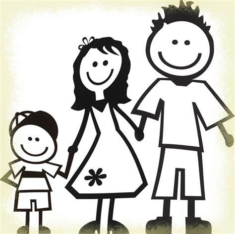 Dibujar Imágenes de Familia en Dibujos para Colorear ...