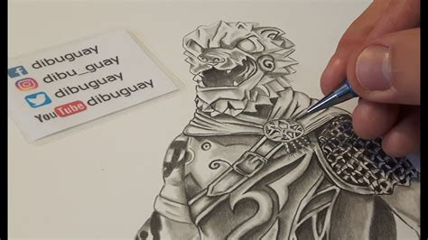 Dibujo a Perro de Guerra / Drawing Battle Hound / Fortnite ...