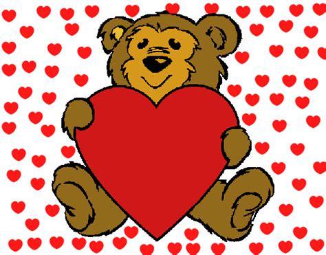 Dibujo de amor de osos pintado por en Dibujos.net el día ...
