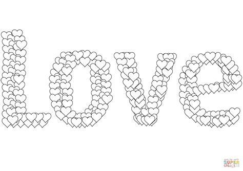 Dibujo de Amor para colorear | Dibujos para colorear ...