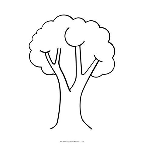 Dibujo De árbol Para Colorear   Ultra Coloring Pages