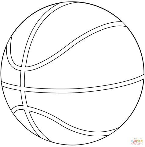 Dibujo de Balón de Baloncesto para colorear | Dibujos para ...