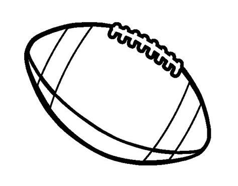 Dibujo de Balón de fútbol americano para Colorear ...