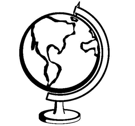 Dibujo de Bola del mundo II para Colorear - Dibujos.net